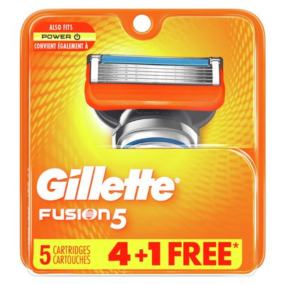 Gillette Fusion5 Men'S Razor Blades