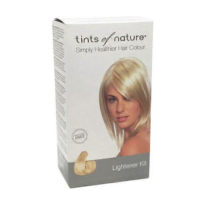Tints Of Nature Conditioning Permanent Lightener Kit for Medium Brown to Blonde Hair