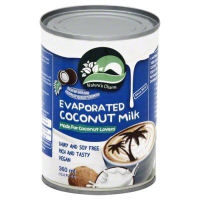 Nature's Charm Coconut Milk, Evaporated
