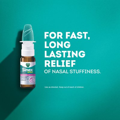 Vicks Sinex Severe Ultra Fine Mist Nasal Spray
