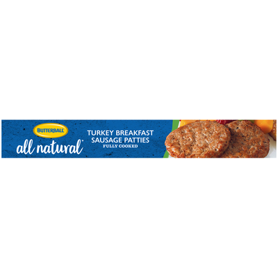 Butterball Natural Inspirations Fully Cooked Turkey Breakfast Sausage Patties