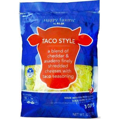 Happy Farms Shredded Taco Style Cheese
