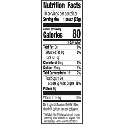 Mott's Tropical Fruit Snacks, 10 Count