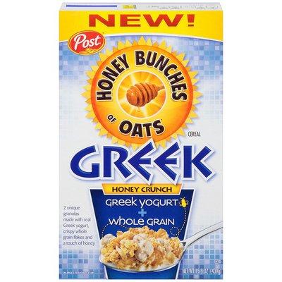 Post Greek Honey Crunch Cereal