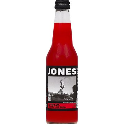 Jones Soda, Strawberry Lime Flavor