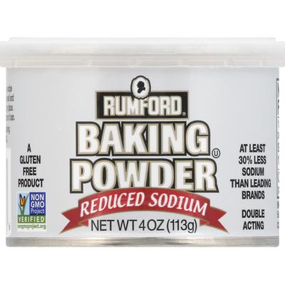 Rumford Baking Powder, Reduced Sodium