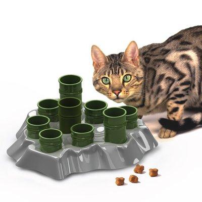 "Aikiou Stimulo Cat Activity Feeding Center 12"" L X 12"" W X 6"" H"