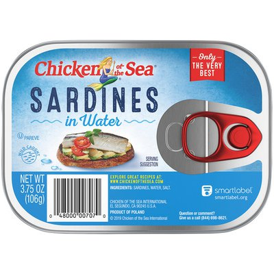Chicken of the Sea Sardines in Water