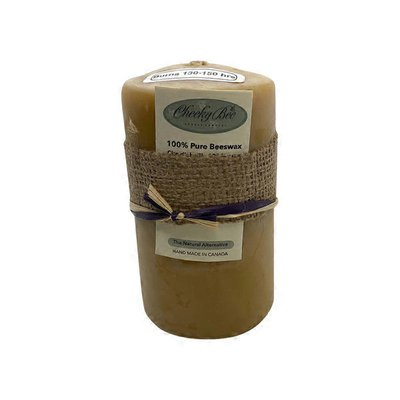 """Cheeky Bee 3x5"""" Pure Gold Beeswax 130-150 Hours"""
