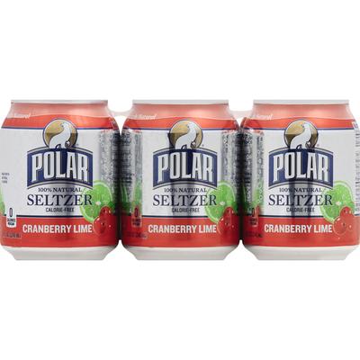 Polar Seltzer, Cranberry Lime