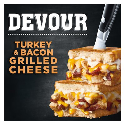 Devour Turkey & Smoked Bacon with Ranch Grilled Cheese Frozen Meal