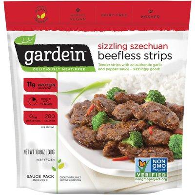 Gardein Sizzling Szechuan Beefless Strips