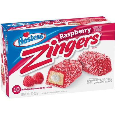 Hostess Raspberry Zingers
