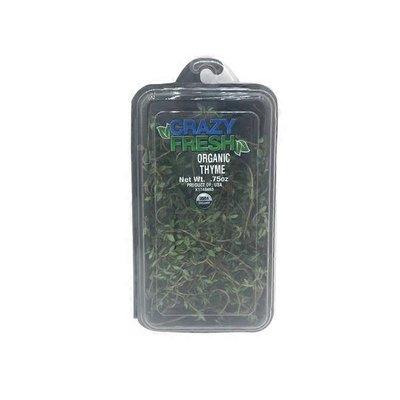 Crazy Fresh Herbs Organic Thyme
