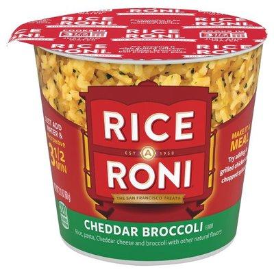Rice-a-Roni Cheddar Broccoli