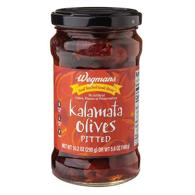 Wegmans Food You Feel Good About Kalamata Olives, Pitted