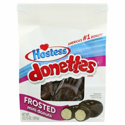 Hostess Frosted Donettes Bag