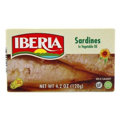 Iberia Lightly Smoked Sardines in Oil
