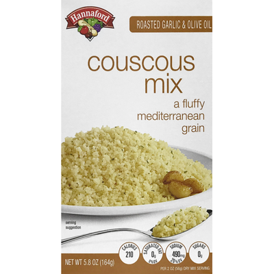 Hannaford Roasted Garlic & Olive Oil Couscous Mix