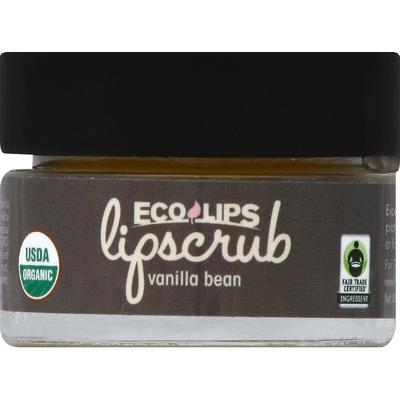 Eco Lips Lip Scrub, Vanilla Bean