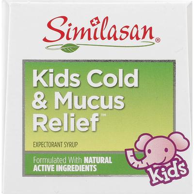 Similasan Cold & Mucus Relief, Natural Grape Flavor, Kids