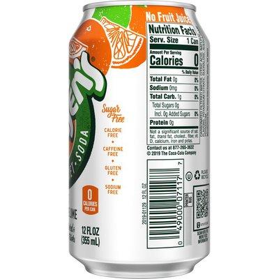 Hansen's Diet Tangerine Lime Soda