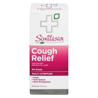 Similasan Cough Relief Cough & Fever Syrup Non-Drowsy