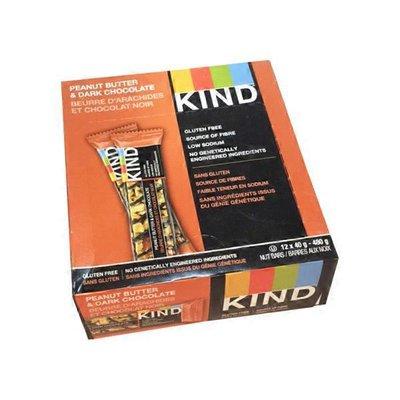 KIND Gluten-Free Bar, Peanut Butter Dark Chocolate + Protein (Case)