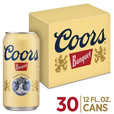 Coors Beer Cans