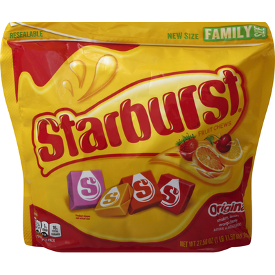 Starburst Original Chewy Candy Stand Up Pouch