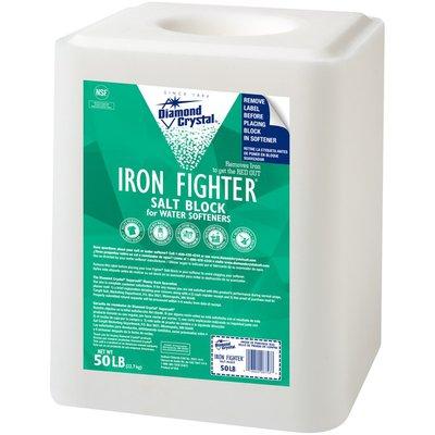 Diamond Crystal Iron Fighter Salt Block