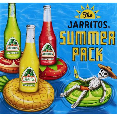 Jarritos Soda, Summer Pack, 12 Pack
