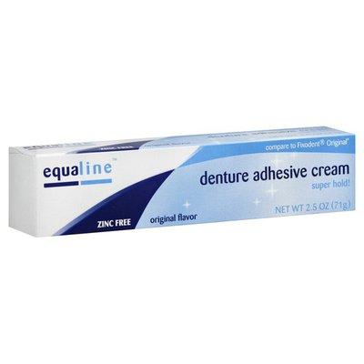 Equaline Denture Adhesive Cream, Original Flavor