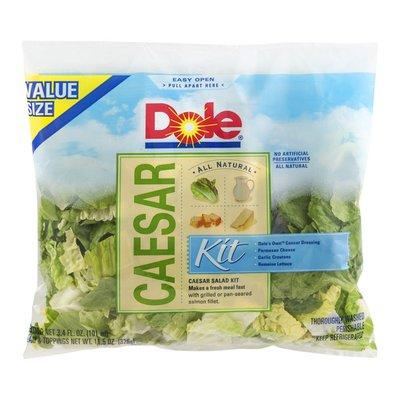 Dole All Natural Caesar Salad Kit