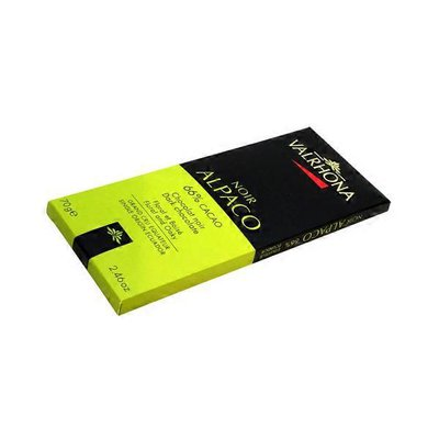 Valrhona 66% Cacao Dark Chocolate Bar