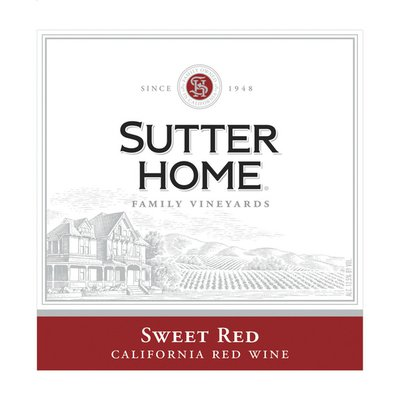 Sutter Home Sweet Red Wine