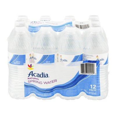 SB Acadia Natural Spring Water - 12 CT