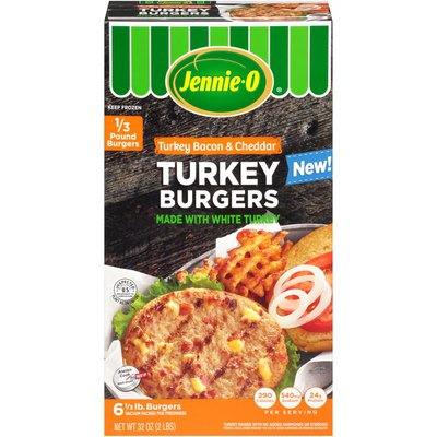 Jennie-O Turkey Bacon & Cheddar Turkey Burgers