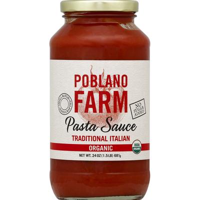 Poblano Farm Pasta Sauce Traditional Italian