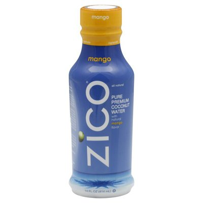 ZICO Pure Premium Coconut Water with Mango
