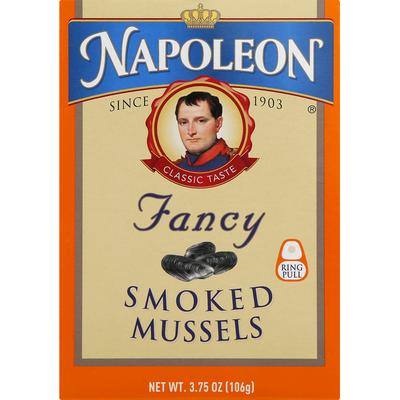 Napoleon Co. Smoked Mussels