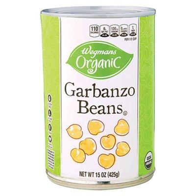 Wegmans Organic Garbanzo Beans