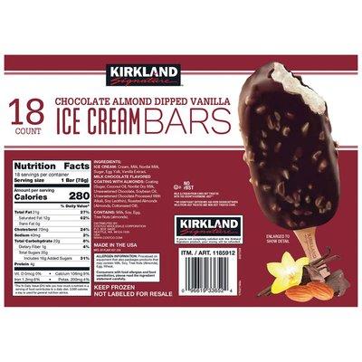Kirkland Signature Ice Cream Bars