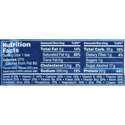 PowerBar Reduced Sugar Chocolate Peanut Butter Protein Bar