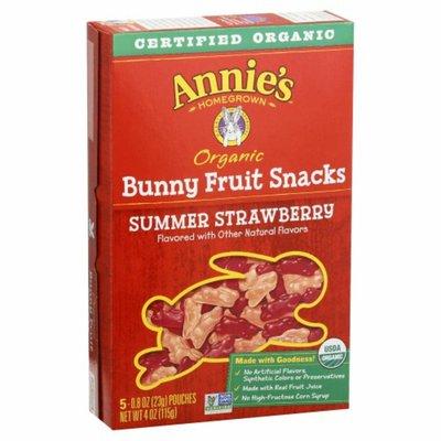Annie's Organic Summer Strawberry Bunny Fruit Snacks, Gluten Free