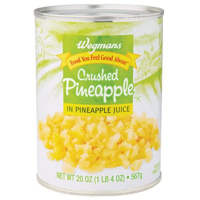Wegmans Food You Feel Good About Crushed Pineapple