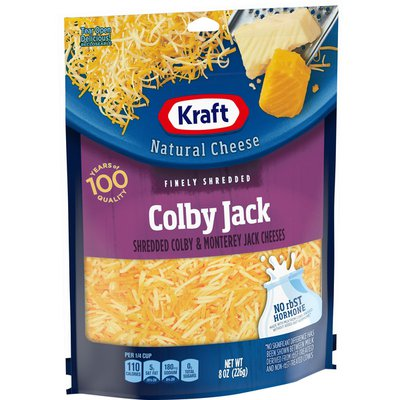 Kraft Colby Jack Finely Shredded Cheese