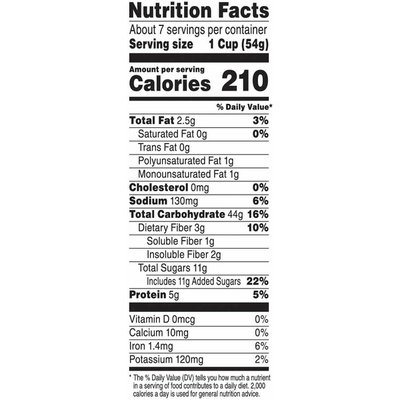 Kellogg's Kashi Breakfast Cereal, Vegan Protein, Organic Cereal, Blueberry Clusters