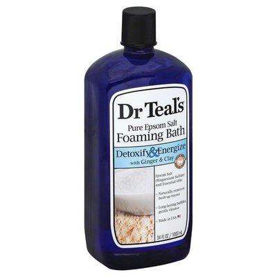 Dr. Teal's Pure Epsom Salt Detox Foaming Bath