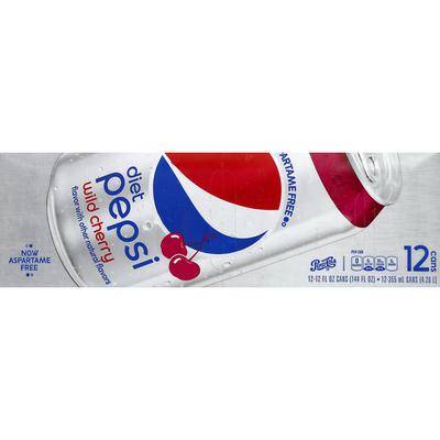Pepsi Cola, Diet, Wild Cherry